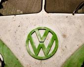 Vintage Volkswagen Bus 4x6 Print