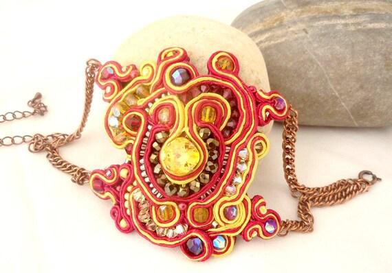 handmade bracelet  -EYE OF DRAGON- one of a kind