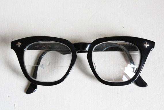 vintage black malcolm x mens glasses