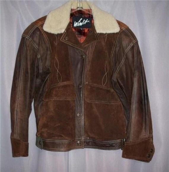 Winlit leather jacket