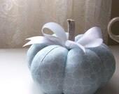 Handmade Decorative Pumpkin in Tiffany Blue