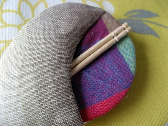 Items similar to pocket toothpick holder kimono toothpick case toothpicks carrying case or - Toothpick holder pocket ...