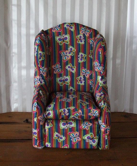 Butterfly Stripe Chair