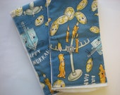 Hanukkah Burp Cloths / Ready to Mail