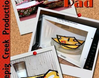 Hot Bowl Hot Pad - Microwave Safe Bowl Pad Sewing Pattern