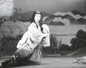 Vintage Japanese Photograph Kabuki