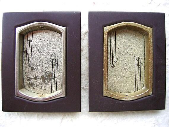 Vintage Japanese Door Pulls Lines Set 28
