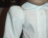 Classic 1940s Blouse for American Girl Molly or other 18 inch doll