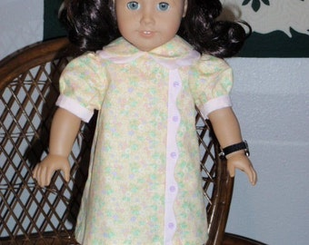1930s Spring Dress for American Girl Kit or Ruthie or other 18 inch doll