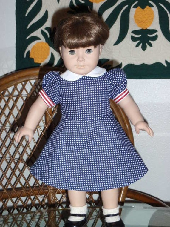 40s Style Dress for American Girl Molly or Emily 18 inch doll