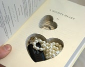 A Mighty Heart A Hollow Book Safe by Elijah of L And L on Etsy