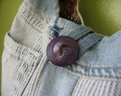 Upcycled Denim and Dog print Large REVERSIBLE Slouch Hobo