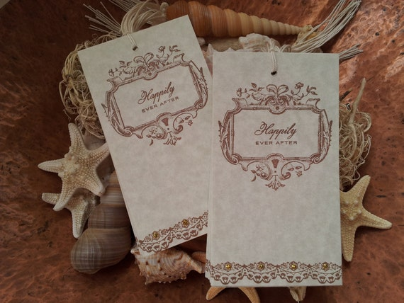 Wedding Wish Tags Happily Ever After Set of 25