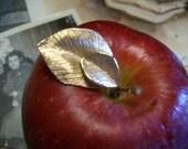 1960s Apple Leaves Pin