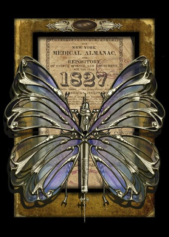 Crypto-Entomology Art Print by Brian Giberson - The Battlefly Medic