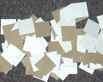 1 inch square CHIPBOARD INCHIE BLANKS