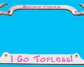 PALM TREE Custom Personalized License Plate Frame