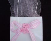 ON SALE NOW......Baby Girl  Shower Favor bags
