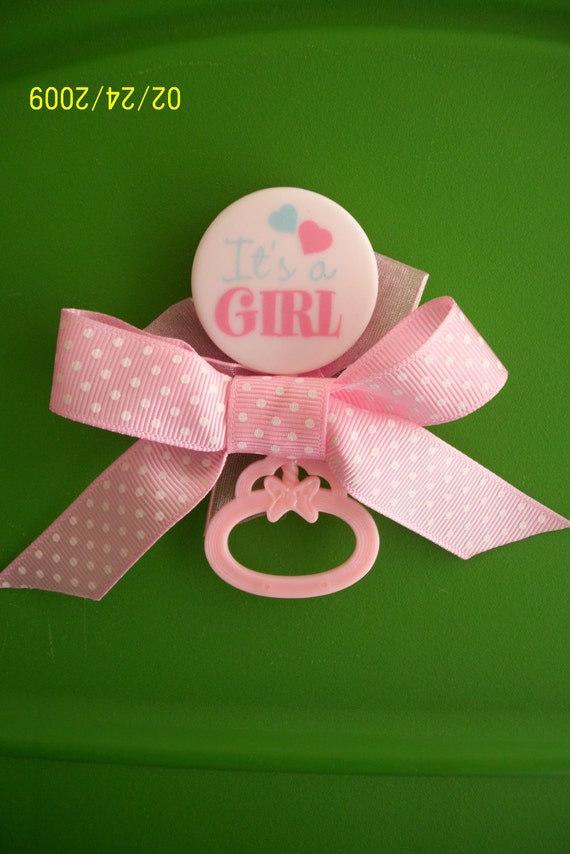 baby shower corsage pin accessory decoration by babybundlesandmore