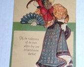 1907 BLACK AMERICANA postcard