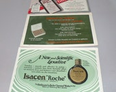 1940s THREE ink blotters  all Medicine advertisements