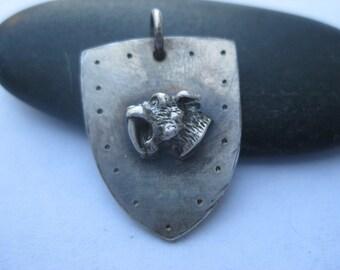 Sabertooth Tiger Crest Necklace