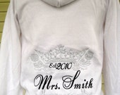 Just married Bride Hoodie Sweatshirt