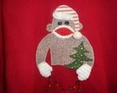 custom order for that crazy sock monkey lady, Thala