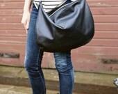 Black Oversized  Hobo Bag CAM