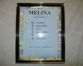 BABY PRINT NAME MEANING TEXTWORK-OF-ART