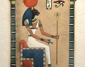 Ancient Egyptian Art Print Goddess Bastet