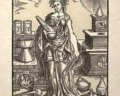 Alchemy Science History Art Print Alchimia