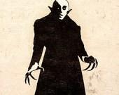 Gothic Horror Art Print Beware Nosferatu Vampire Wall Poster