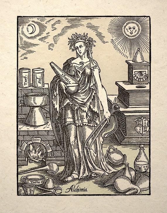 Alchemy Science History Art Print Alchimia