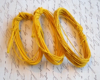 vintage- thread covered wire - for your crafts- you pick color