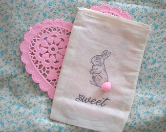 Sweet - muslin bags- set of 5