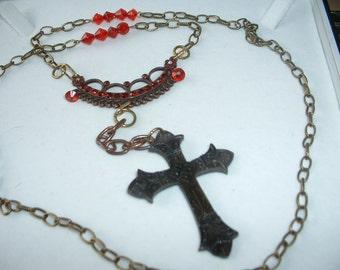Steampunk Vampire Hunter Rosary