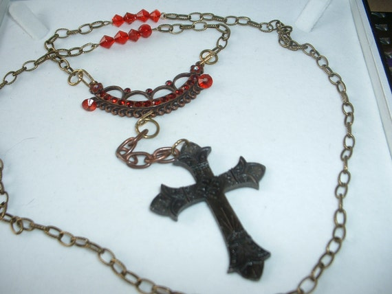 Steampunk Vampire Hunter Rosary