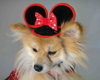 Mini mouse costume for your puppy