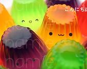 Japanese photocard - jolly jellies