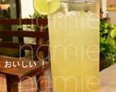 SALE Japanese photocard - lemonade