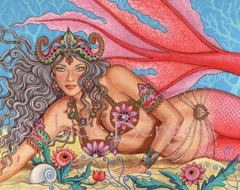 DIVA of the DEEP limited edition art print