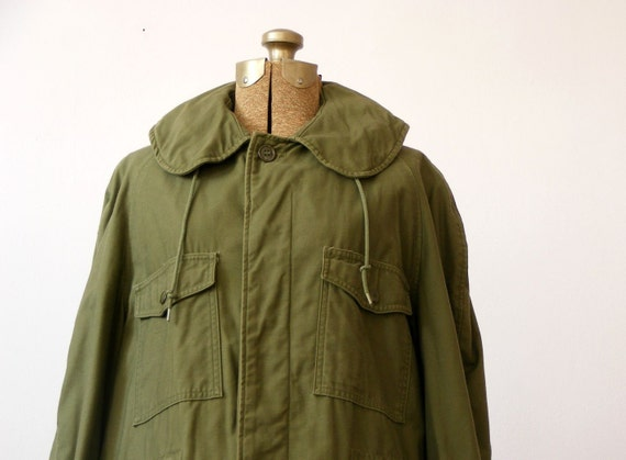 vintage 1960s MILITARY ARMY FIELD JACKET coat