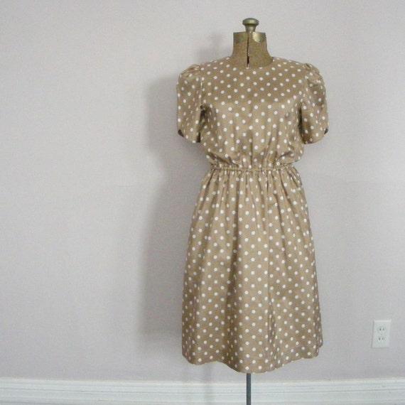 vintage GOOD GIRL POLKA DOT dress