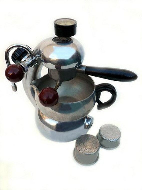1950s Atomic Coffee Maker Espresso Machine Designed By