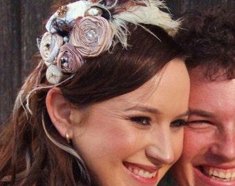 Rosette Headband/ Fascinator  - Many Colours, Custom orders welcome
