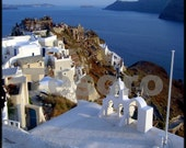 Stunning Santorini -Set of 5 notecards