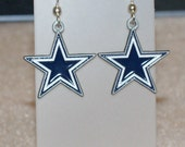 Dallas Cowboys star earrings