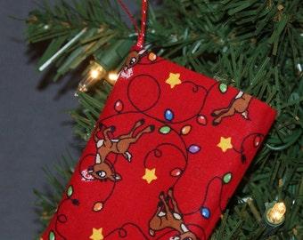 Rudolph Gift Card Holder Ornament (GCO121)