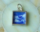 A Perfect Day.... Hand-painted Picture Pendant on Sterling Silver OOAK